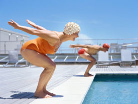 Position your body for success and good health before diving into your favorite activity.