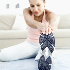 We'll work together to establish exercise and stretches to assist in your recovery.