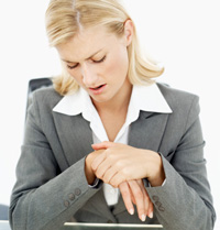 Carpal Tunnel Syndrome is often helped with chiropractic care.